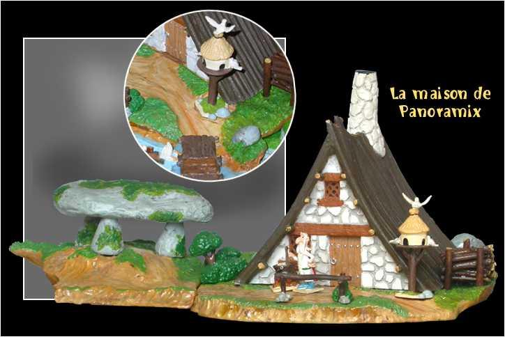 La maison du druide panoramix for 1313 la maison du cauchemar