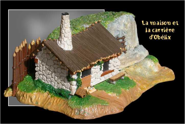 La maison et la carri re d 39 ob lix for La maison d harmony
